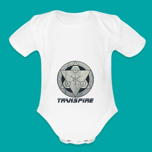 Sacred Geometry - Short Sleeve Baby Bodysuit