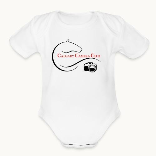 Calgary Camera Club - Carolyn Sandstrom - Organic Short Sleeve Baby Bodysuit