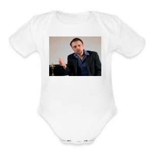 Justin Stoney as Leonardo - Short Sleeve Baby Bodysuit
