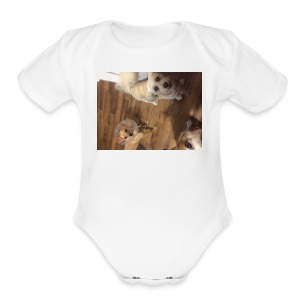 IMG 0119 - Short Sleeve Baby Bodysuit