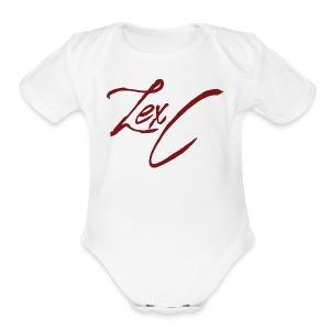 LexC Logo - Short Sleeve Baby Bodysuit