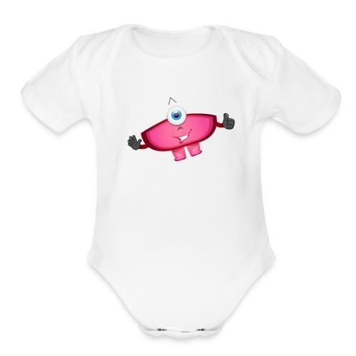 Kramro - Organic Short Sleeve Baby Bodysuit