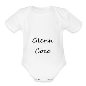 GlennCocoYT - Short Sleeve Baby Bodysuit