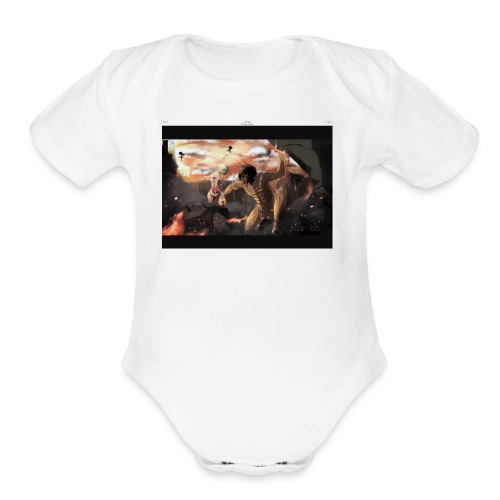 IMG 0195 - Organic Short Sleeve Baby Bodysuit