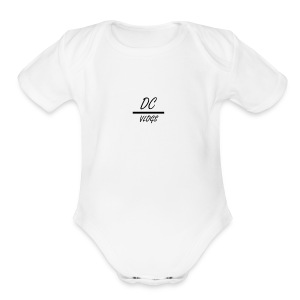 DC Vlogs - Short Sleeve Baby Bodysuit