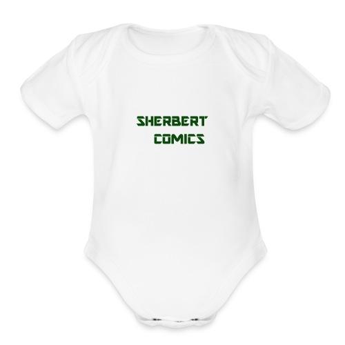SherbertComics - Organic Short Sleeve Baby Bodysuit