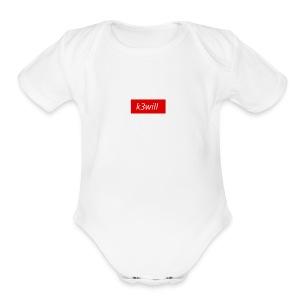 spread shirt sucks - Short Sleeve Baby Bodysuit