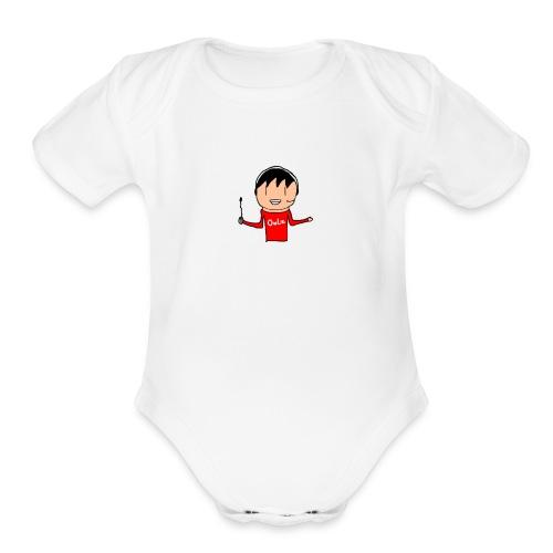 OwLzMerch - Organic Short Sleeve Baby Bodysuit