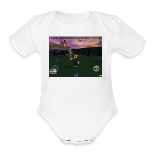 IMG 174 - Short Sleeve Baby Bodysuit