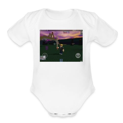 IMG 174 - Organic Short Sleeve Baby Bodysuit