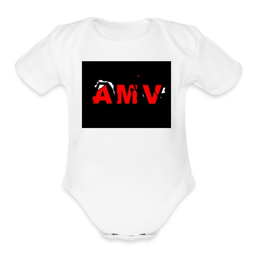 AMV - Organic Short Sleeve Baby Bodysuit