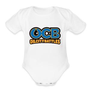 ocb - Short Sleeve Baby Bodysuit