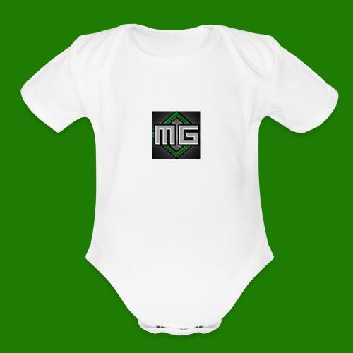MrGreenGaming Logo Phone Cases - Organic Short Sleeve Baby Bodysuit