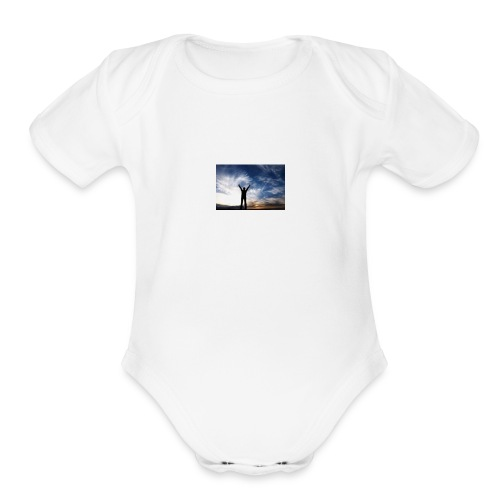 Reach Goals - Organic Short Sleeve Baby Bodysuit