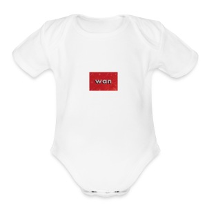 WAN - Short Sleeve Baby Bodysuit