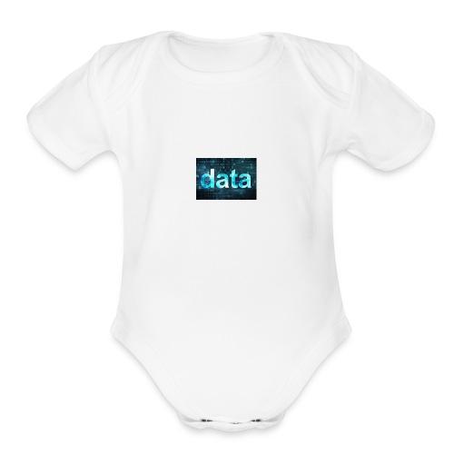 fredd21 - Organic Short Sleeve Baby Bodysuit