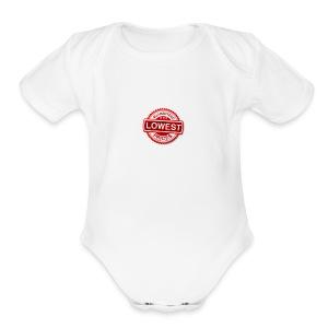 lowest price guarantee - Short Sleeve Baby Bodysuit