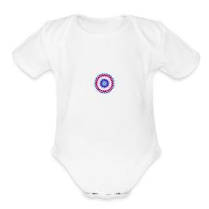 Lotus Flower - Short Sleeve Baby Bodysuit