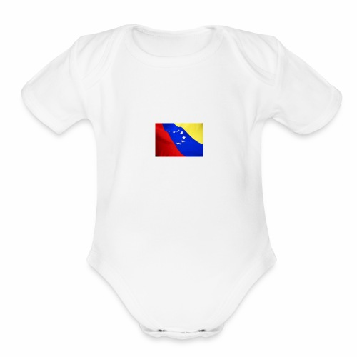 Venezuelan online t-shirt - Organic Short Sleeve Baby Bodysuit