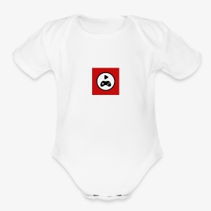 symbol - Short Sleeve Baby Bodysuit