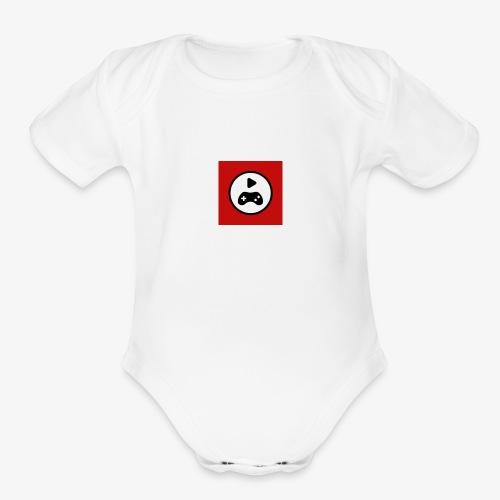 symbol - Organic Short Sleeve Baby Bodysuit