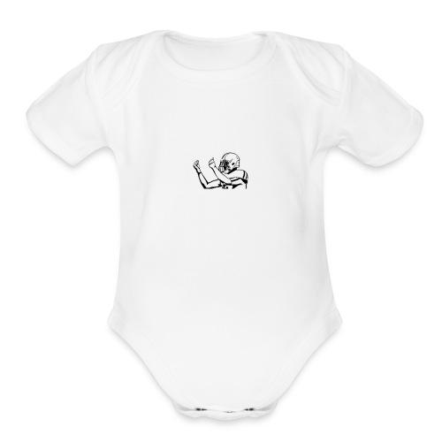 A Money Money Money - Organic Short Sleeve Baby Bodysuit