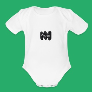 Status vlogger - Short Sleeve Baby Bodysuit