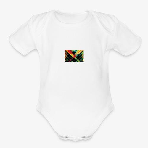 Mr Cool - Organic Short Sleeve Baby Bodysuit