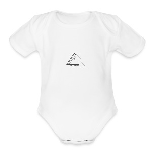 The Summit Phone case - Short Sleeve Baby Bodysuit