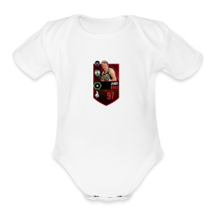 Larry Bird Unreleased - Short Sleeve Baby Bodysuit