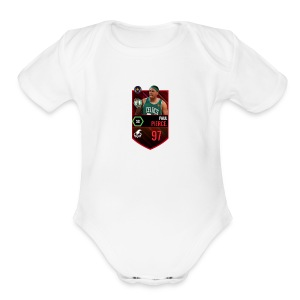 Paul Pierce Unreleased - Short Sleeve Baby Bodysuit