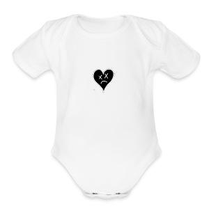 fake luv - Short Sleeve Baby Bodysuit