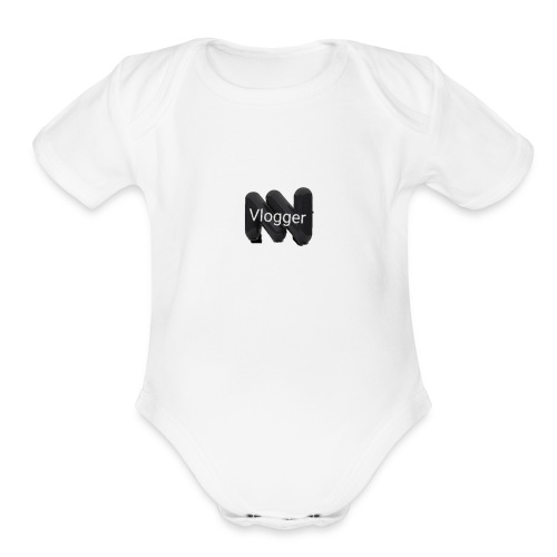 Status vlogger - Organic Short Sleeve Baby Bodysuit