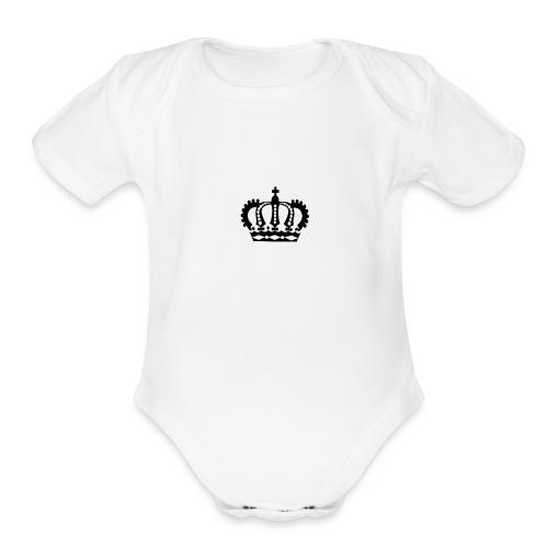 Queen phone case - Organic Short Sleeve Baby Bodysuit