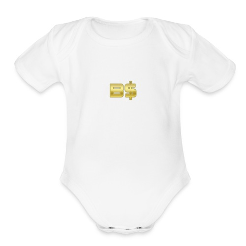 Reborn Series - Organic Short Sleeve Baby Bodysuit
