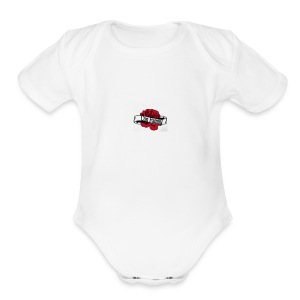 Con family rose - Short Sleeve Baby Bodysuit