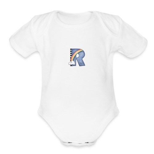 images 6 - Organic Short Sleeve Baby Bodysuit