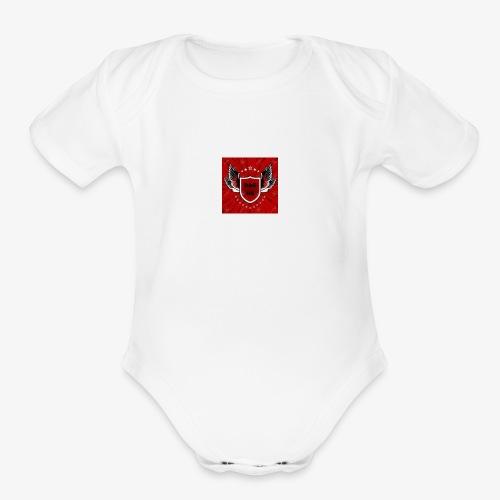 dag logo - Organic Short Sleeve Baby Bodysuit