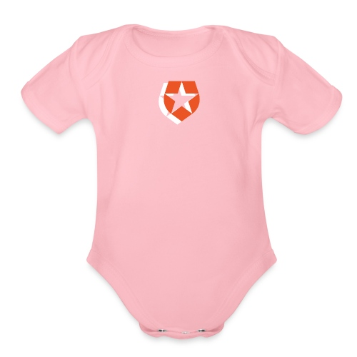 Badge - Organic Short Sleeve Baby Bodysuit