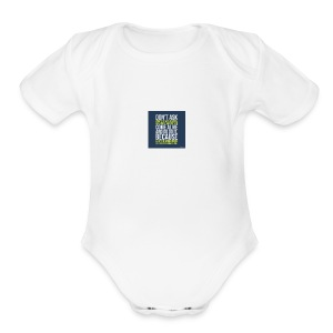 the world needs is people to come alive - Short Sleeve Baby Bodysuit