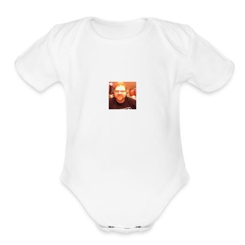 Ginger Spice - Organic Short Sleeve Baby Bodysuit