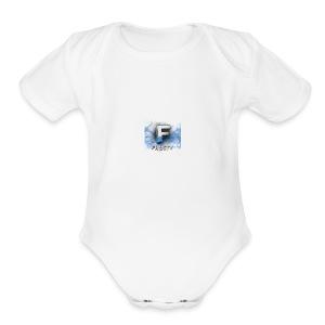 Frosty Logo - Short Sleeve Baby Bodysuit