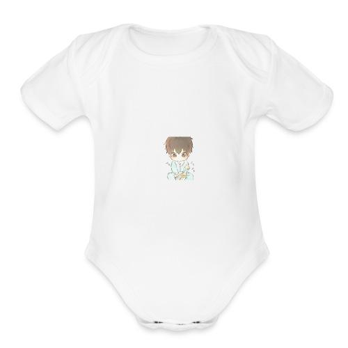 BABY MATIAS - Organic Short Sleeve Baby Bodysuit