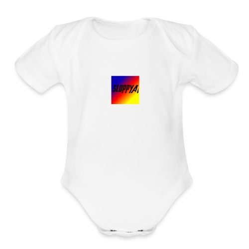 Sloppyat - Organic Short Sleeve Baby Bodysuit