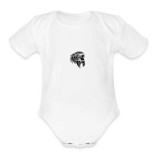 images 1 - Organic Short Sleeve Baby Bodysuit