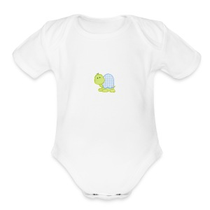 Baby turtles - Short Sleeve Baby Bodysuit