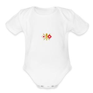 051B2FC1 4424 4090 B129 87C643B8CC98 - Short Sleeve Baby Bodysuit