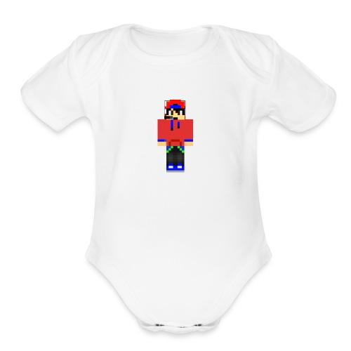 alukprogamer - Organic Short Sleeve Baby Bodysuit