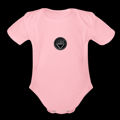 Knight654 Logo - Organic Short Sleeve Baby Bodysuit