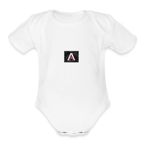 atlas - Organic Short Sleeve Baby Bodysuit
